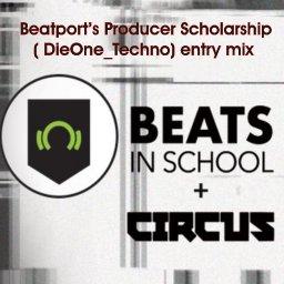 DieOne_Techno 'Beats in School' + Circus  mix ( track 54min47sec